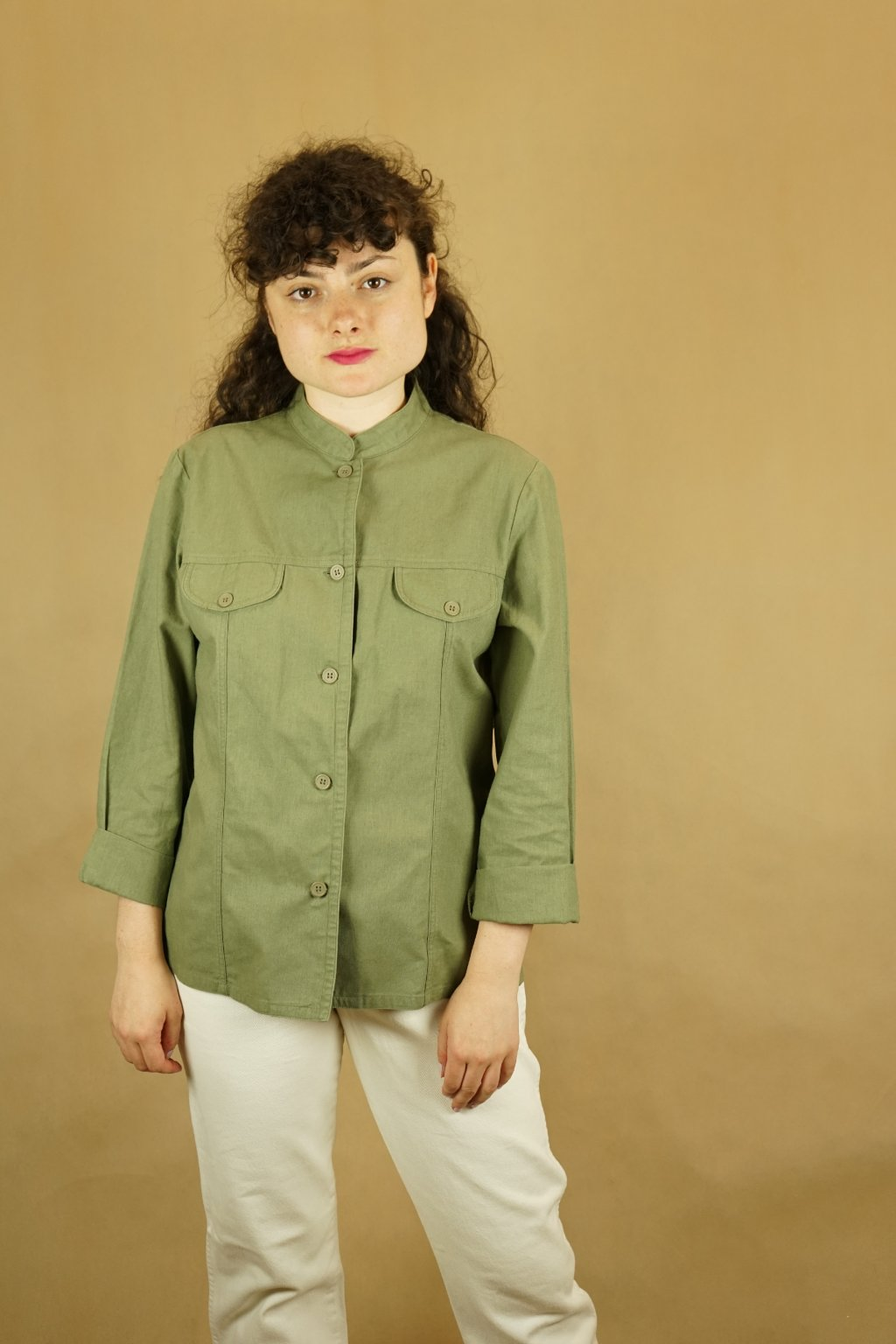 Lněná košile vel. M/L