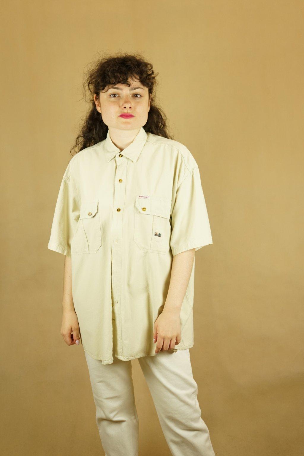 Lněná košile vel. L/XL