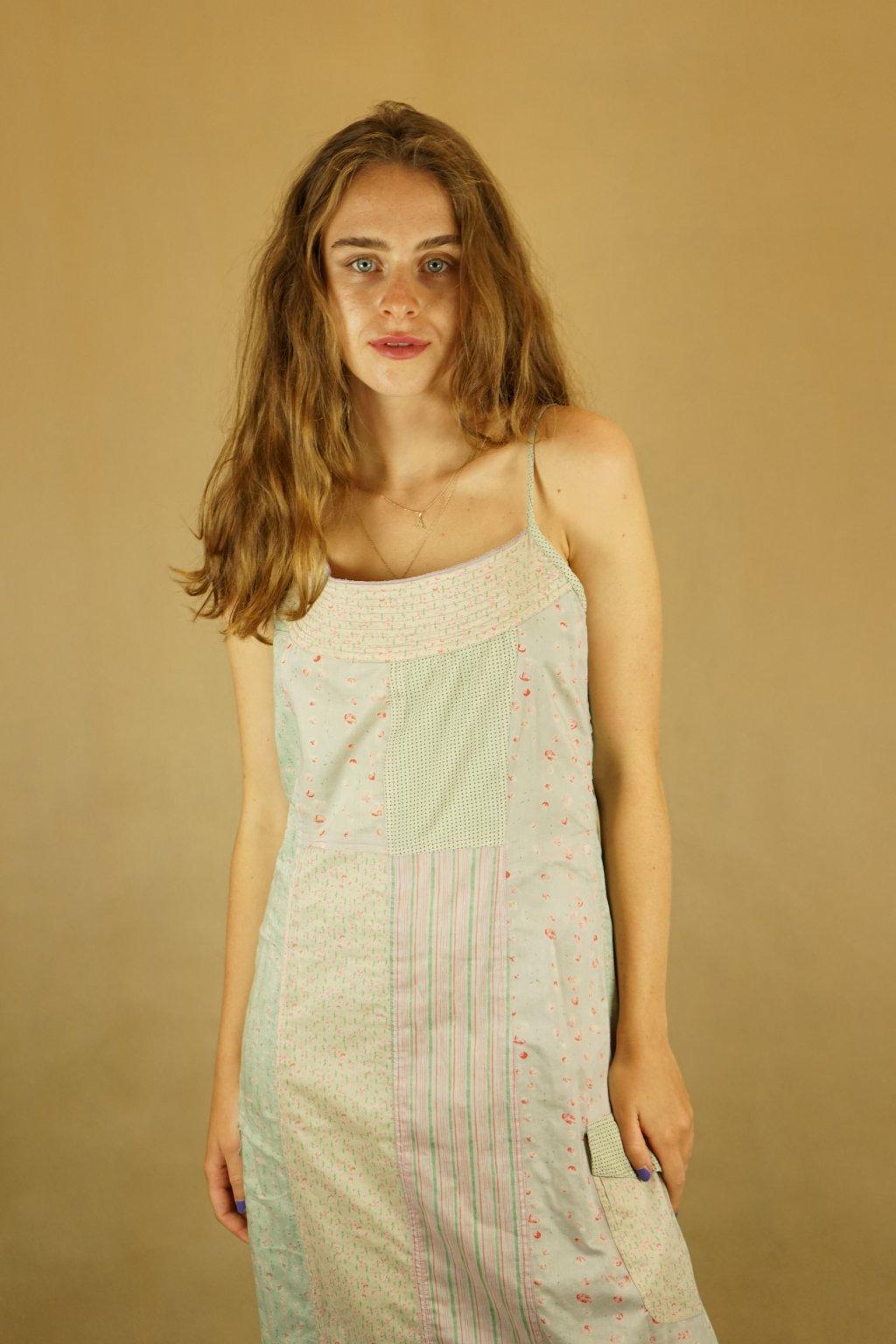 Pastelové šaty/košilka vel. M/L