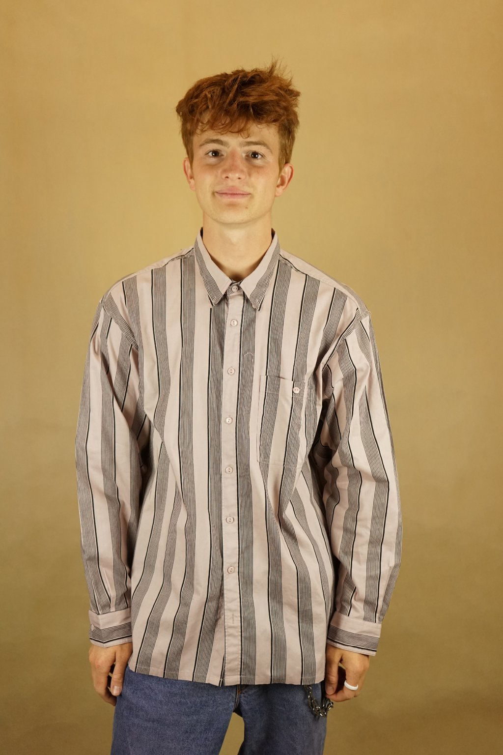Pruhovaná košile vel. L/XL