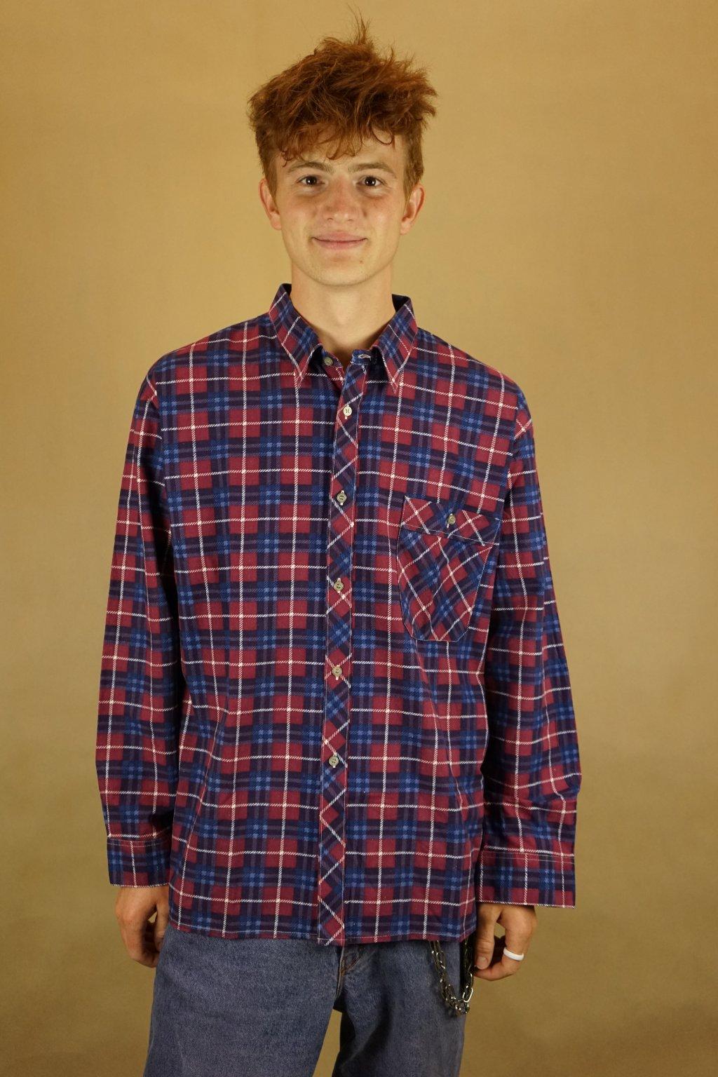 Flanelová košile vel. L/XL
