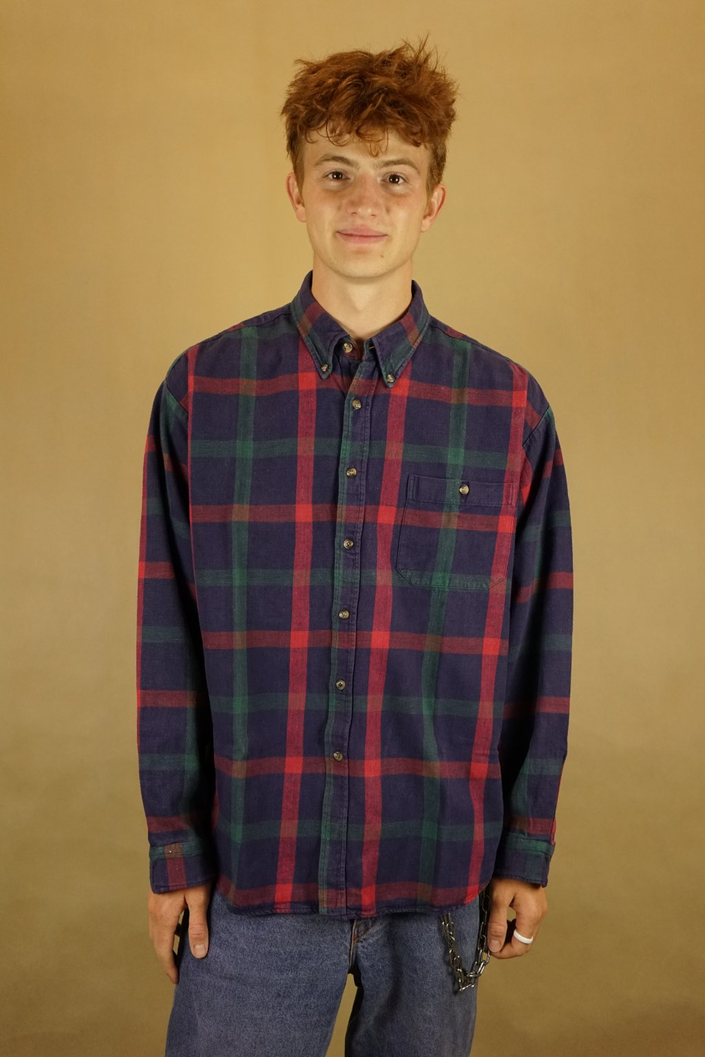 Flanelová košile vel. XL