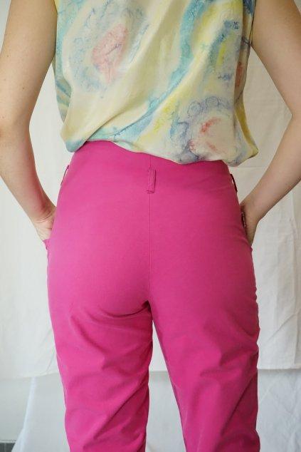 Růžové kalhoty vel. S/M