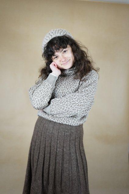 Béžový svetr vel. S/M