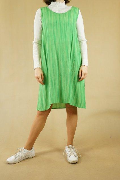 90s zelené šaty vel. UNI
