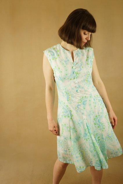 60s šaty vel. S/M