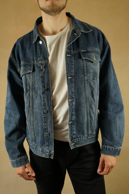 Džínová bunda vel. XL