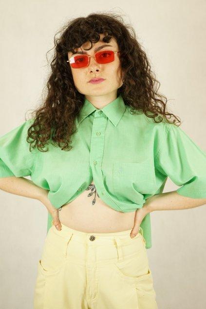Zelená košile vel. M