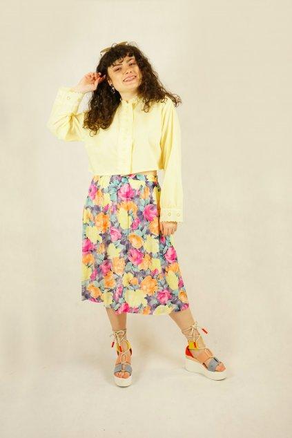 Květinová sukně vel. M/L