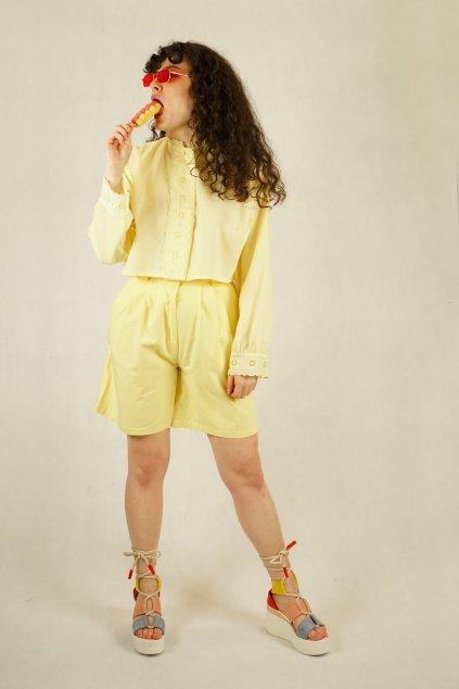 Žluté šortky vel. S