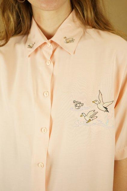 Košile s výšivkou vel. M