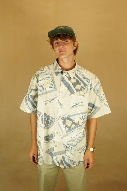 Vzorovaná košile vel. XL
