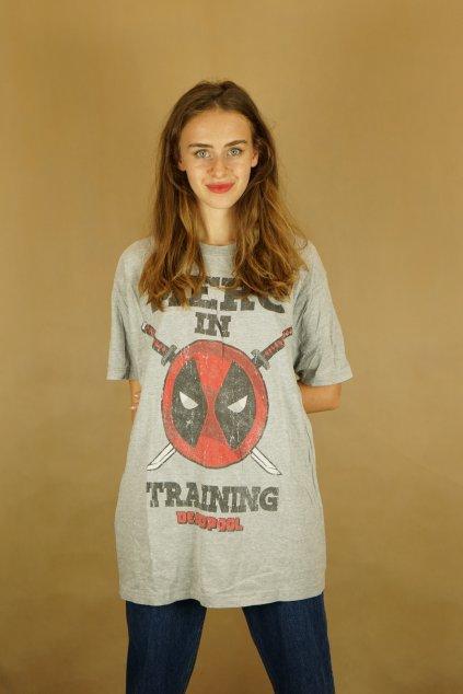 Deadpool triko vel. XL