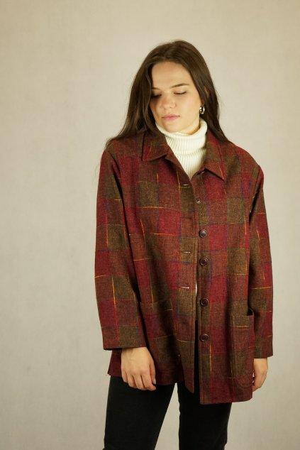 Vlněné sako/bunda vel. XL
