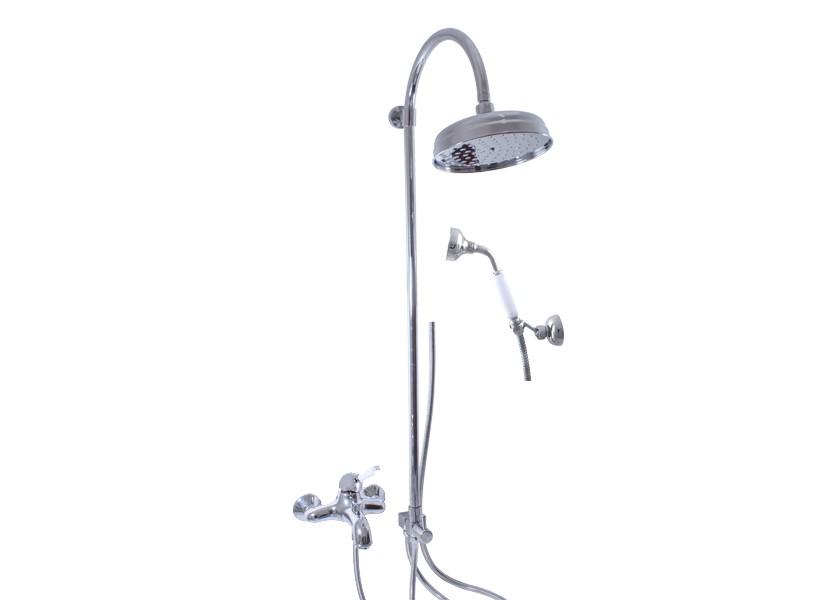 Retro sprchy, talíře, sety, hadice