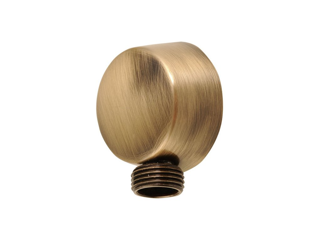 Vývod sprchy, průměr 50mm, bronz 9816
