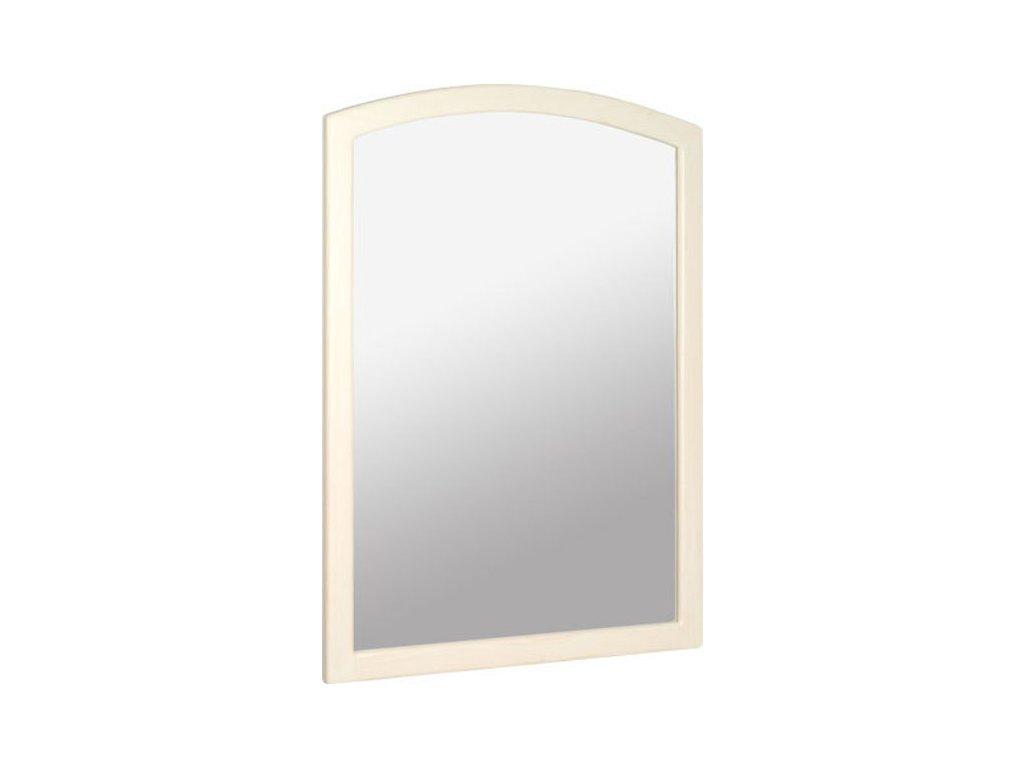 Retro zrcadlo 65x91cm, starobílá 1685