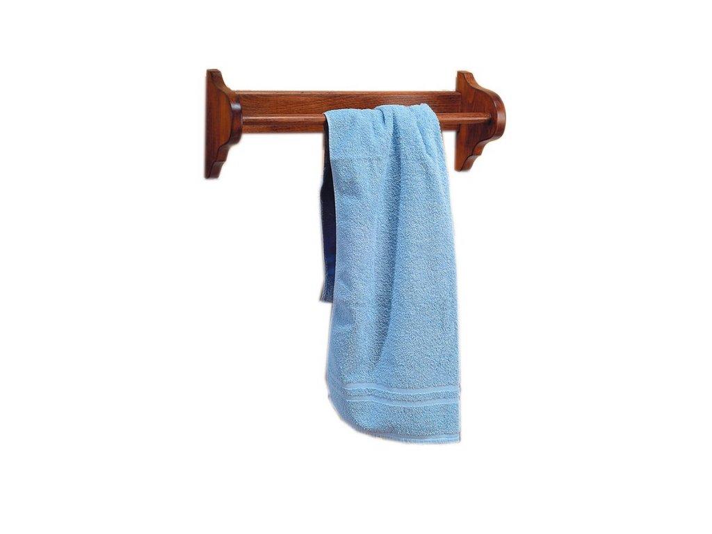 RETRO držák na ručníky 50x17cm, buk 1671