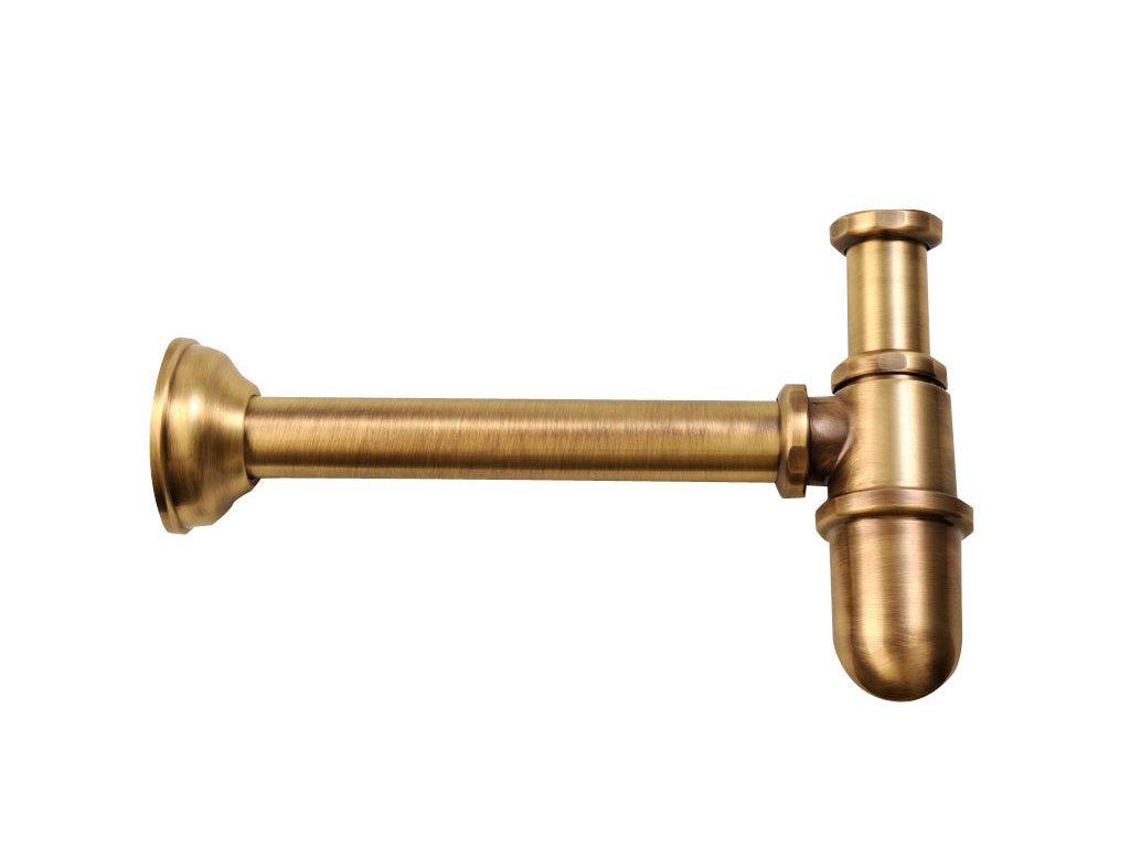 """Umyvadlový sifon 1""""1/4, odpad 32mm, bronz   (9596)"""