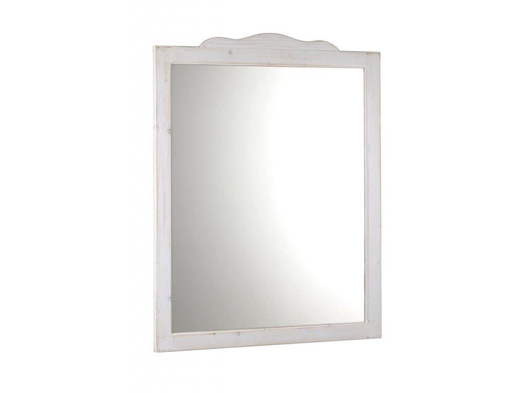 RETRO zrcadlo 94x115cm, starobílá 1687