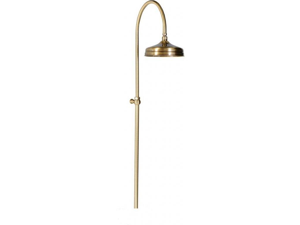 ANTEA sprchový sloup k napojení na baterii, hlavová sprcha, bronz SET016