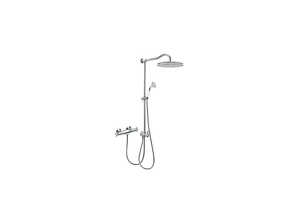TRES RETRO termostatický sprchový set chrom 02419501