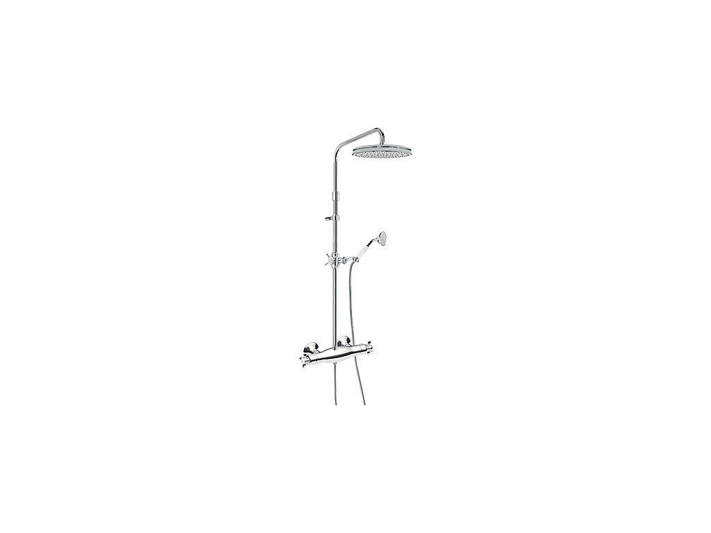 TRES RETRO termostatický sprchový set chrom 02419502