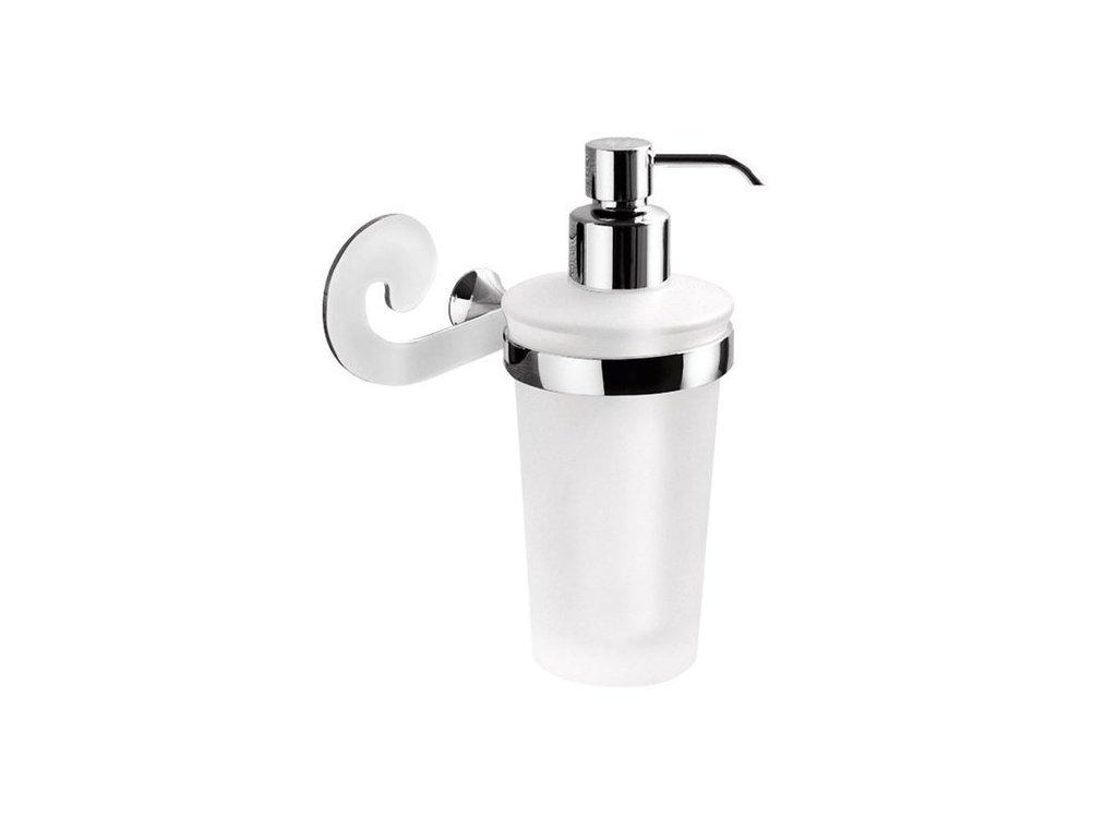 SISSI dávkovač mýdla, chrom/sklo satin