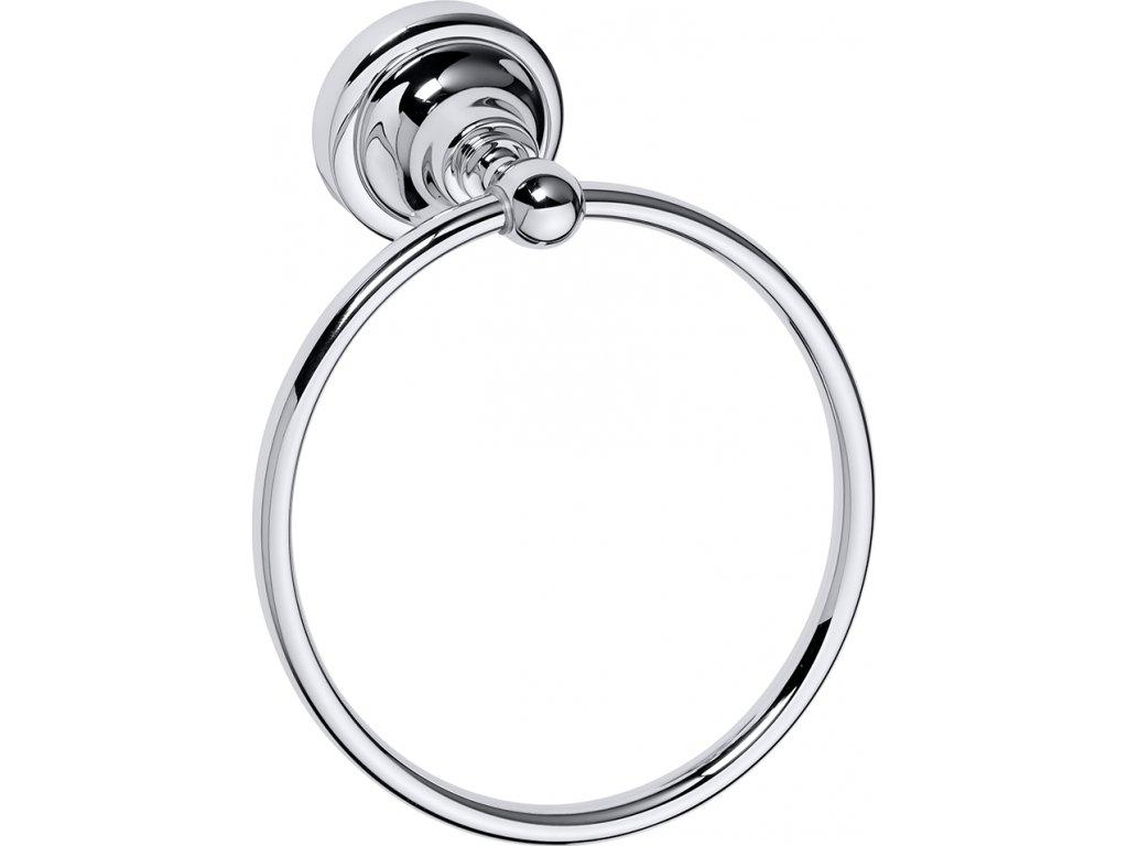 Bemeta Retro kruh na ručníky chrom 144304062