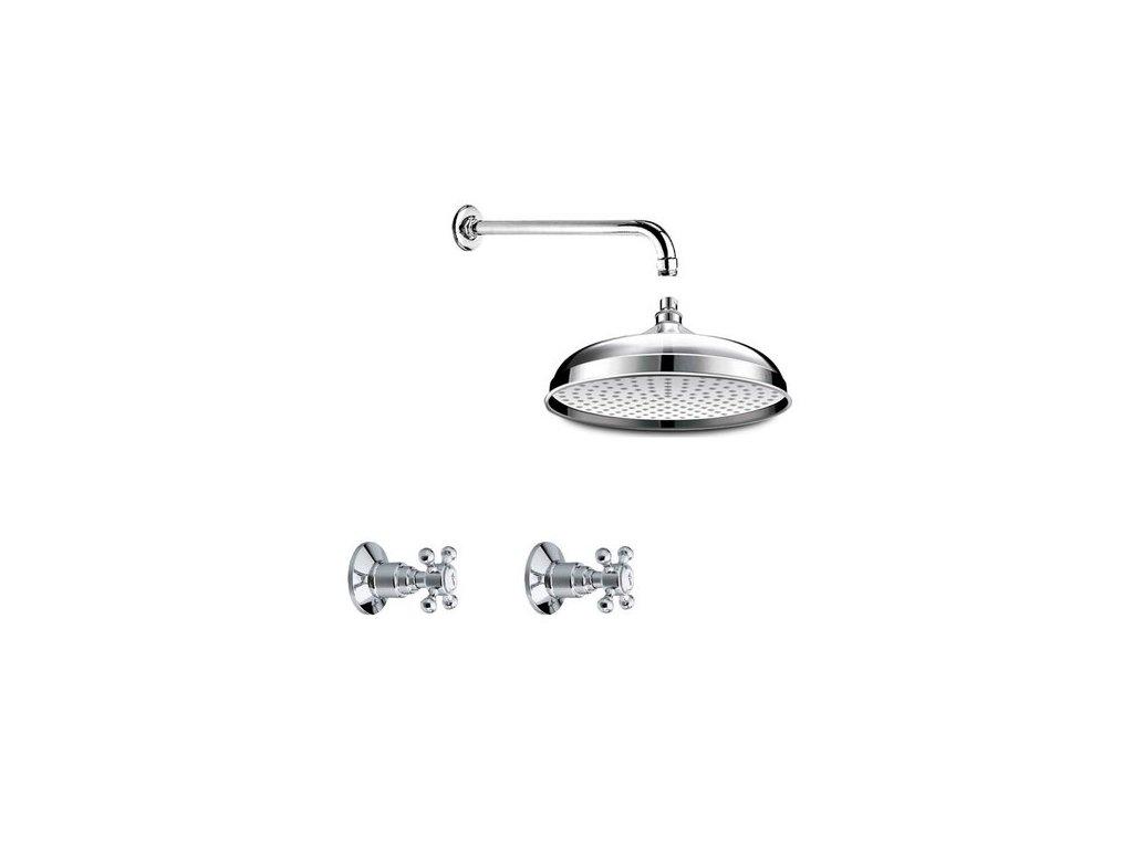 Altea Antea Belinda antea podomítkový sprchový set, 1 výstup, chrom 3051set02