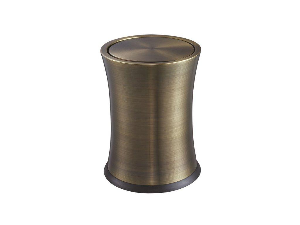 ROOM odpadkový koš, bronz   (DR214)