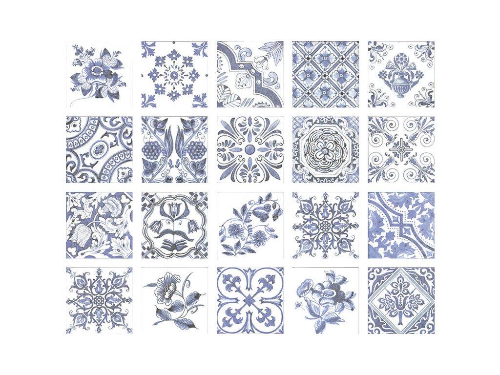 OPORTO Decor Bianco 15x15 (bal=1m2)