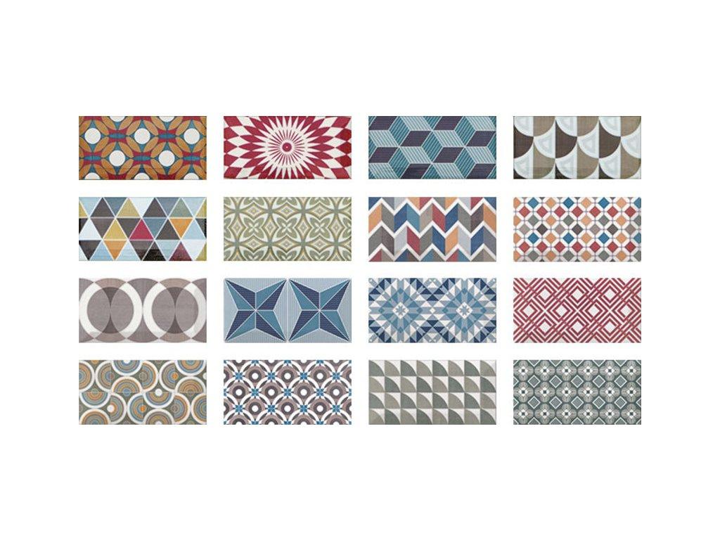 METRO Patchwork Colours 7,5x15 (EQ-10D)(1bal=0,5m2) 20922
