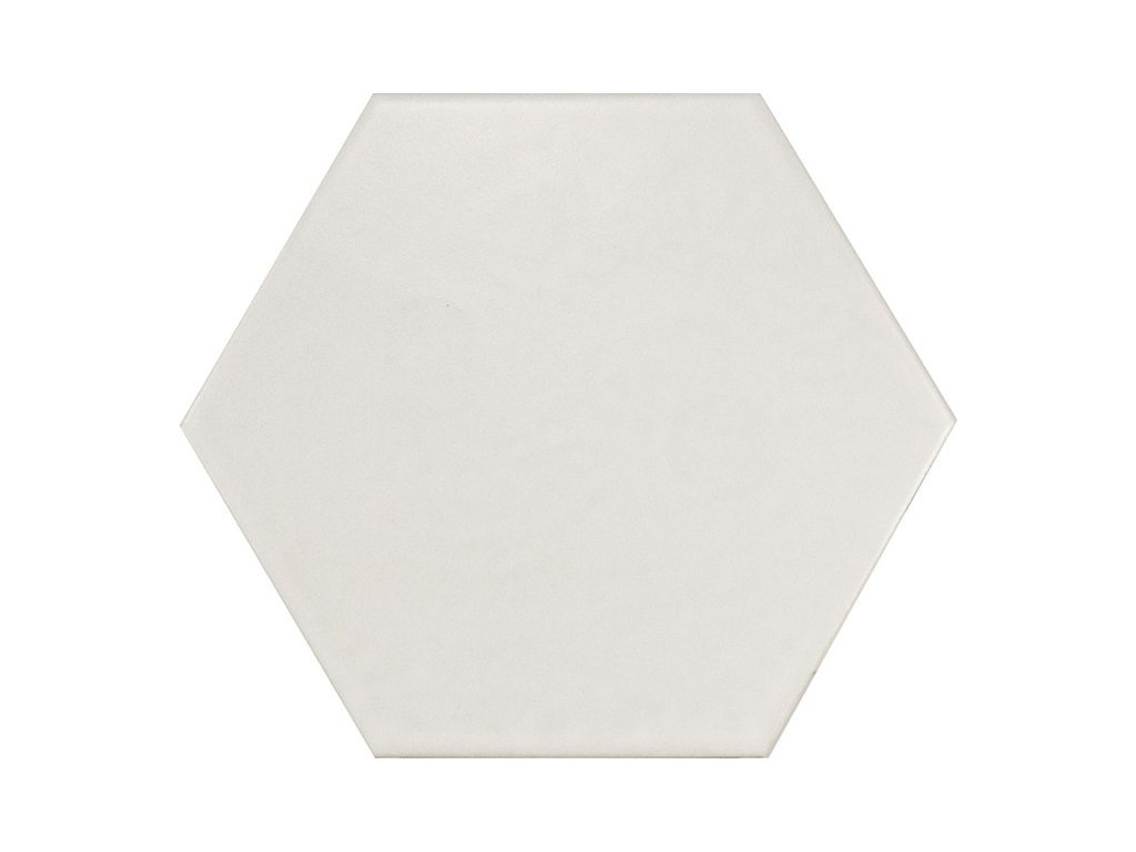 HEXATILE Blanco mate 17,5x20 (EQ-3) (1bal=0,715m2) 20339
