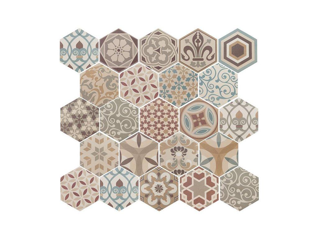 HEXATILE Harmony Colours 17,5x20   (21356)