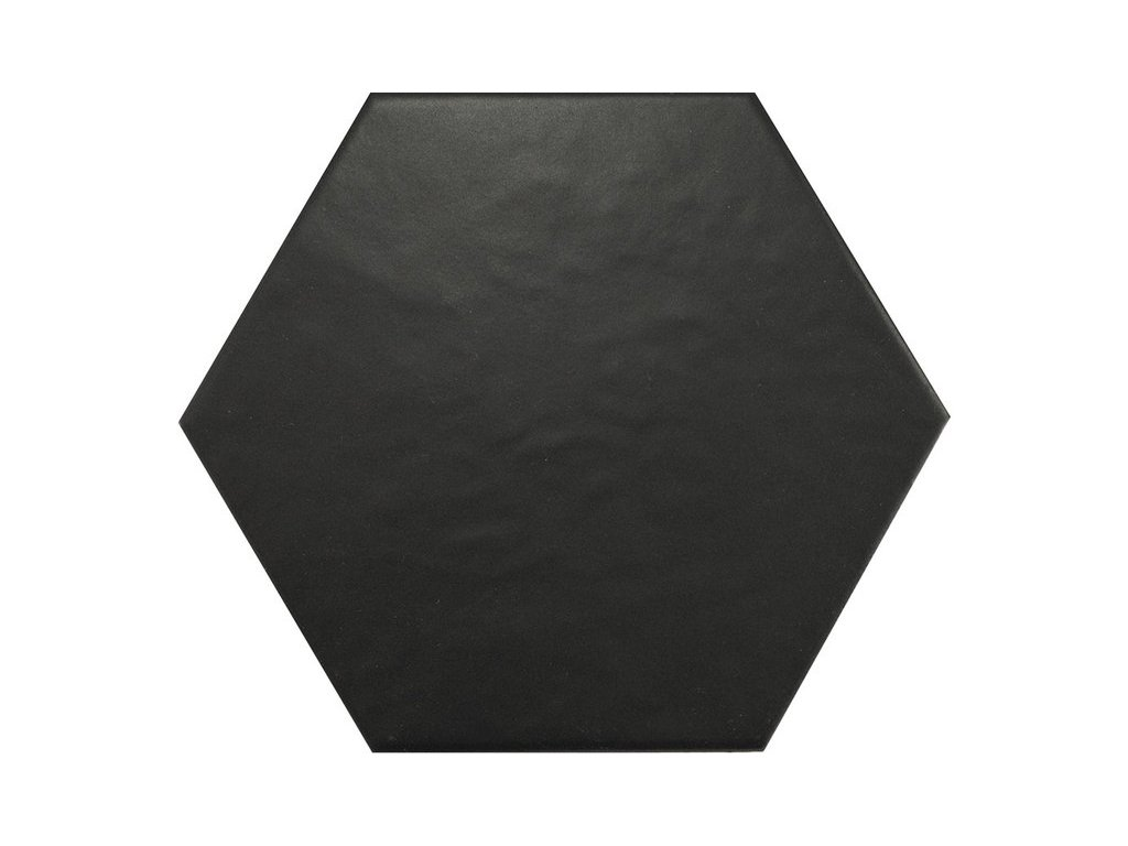 HEXATILE Negro Mate 17,5x20   (20338)