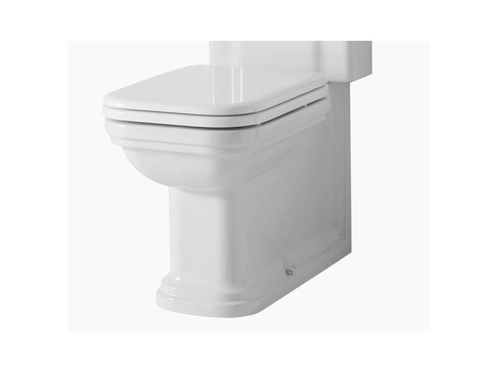 WALDORF WC kombi mísa 40x42x68cm, spodní/zadní odpad 411701