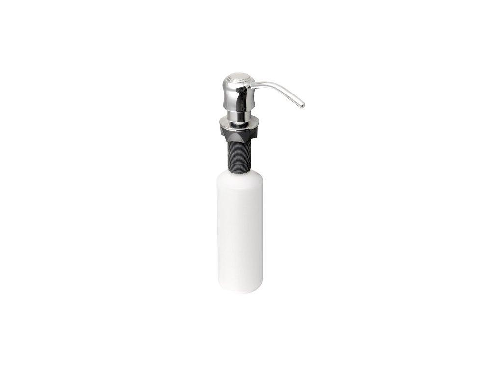Zápustný dávkovač mýdla, chrom SP002