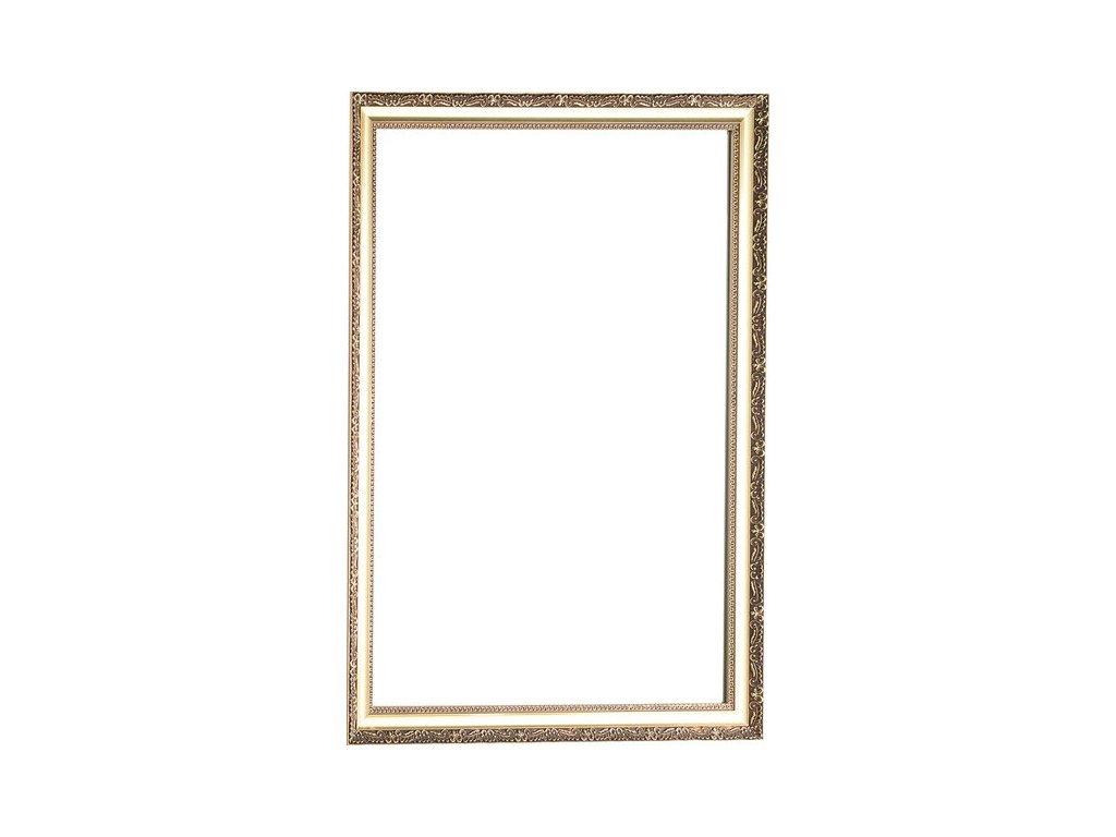 BOHEMIA zrcadlo v dřevěném rámu 686x886 mm   (NL483)