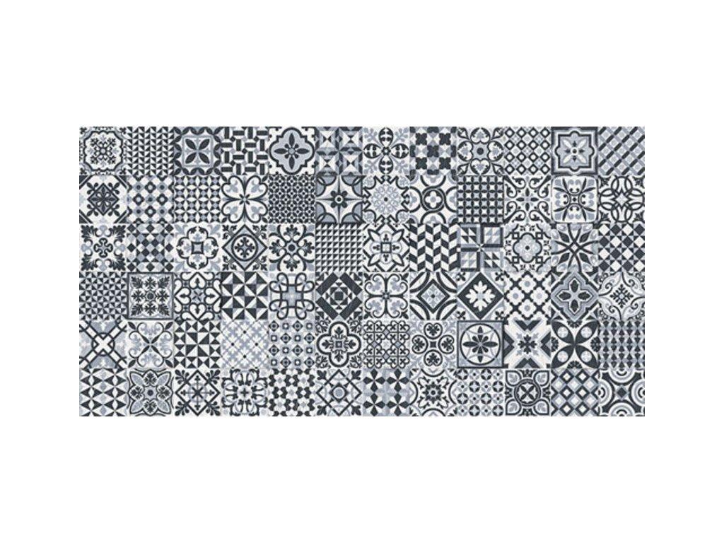 HERITAGE Deco Black 32x62,5 (bal =1m2)   (HER015)