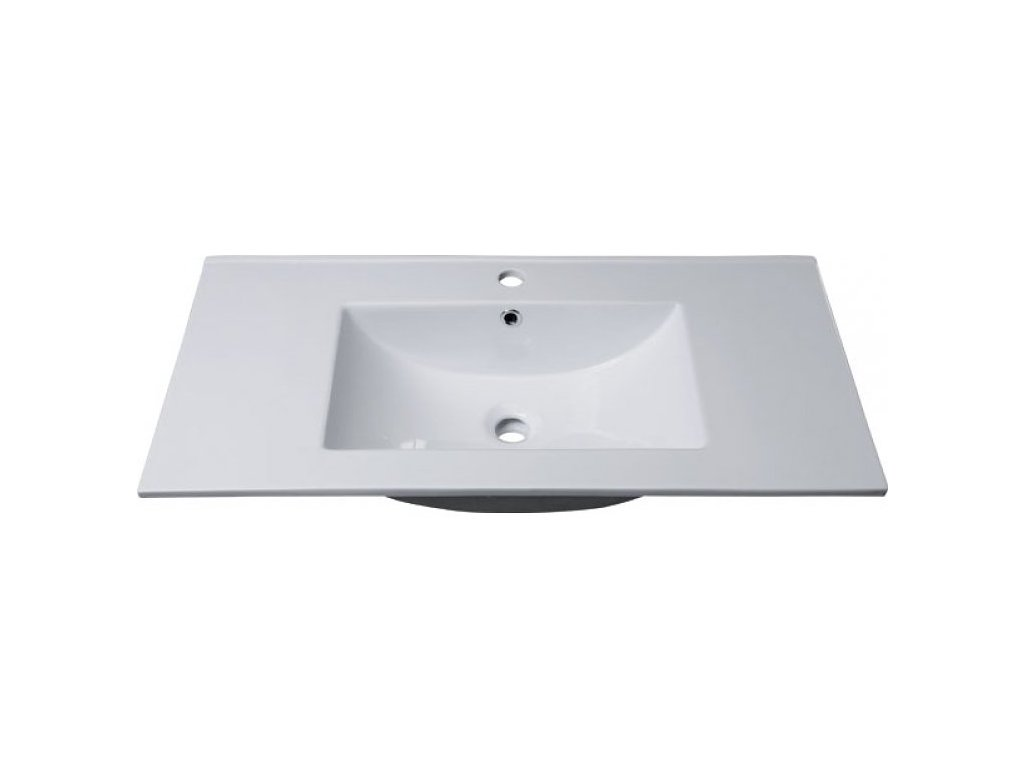 SLIM keramické umyvadlo 90x16x46cm, nábytkové 1601-90