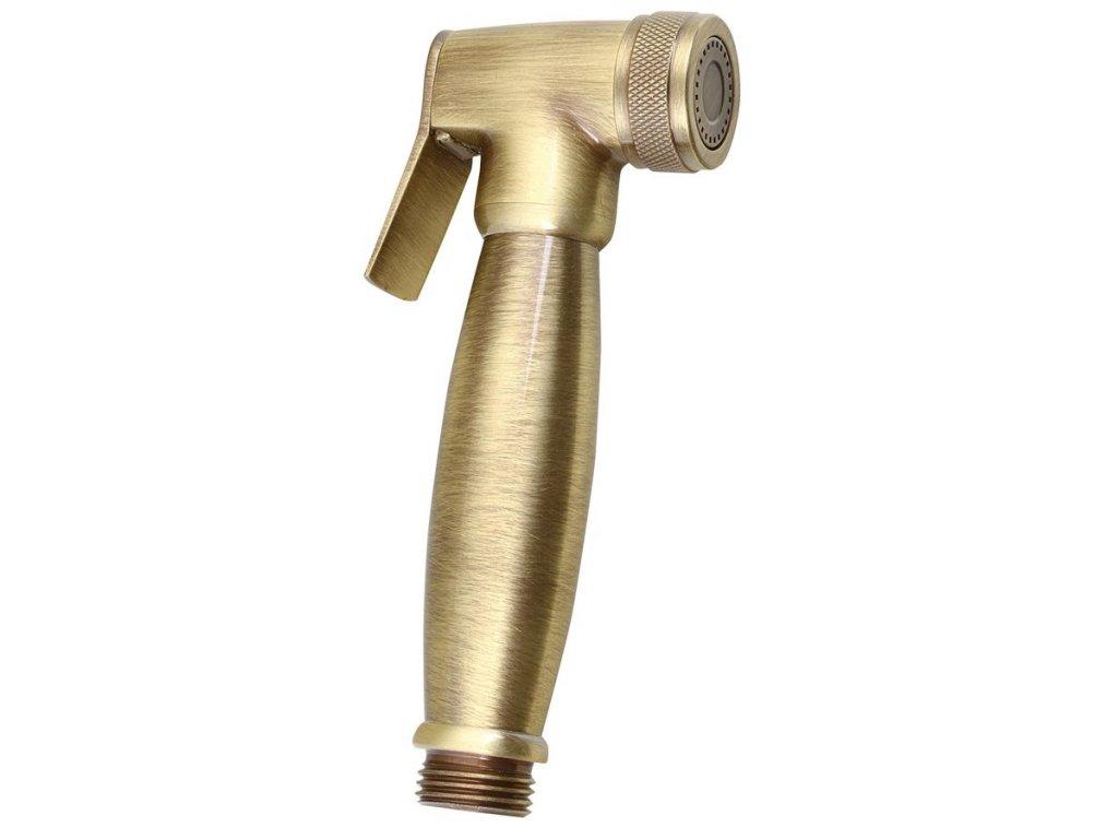 Bidetová sprcha retro, bronz DOC66