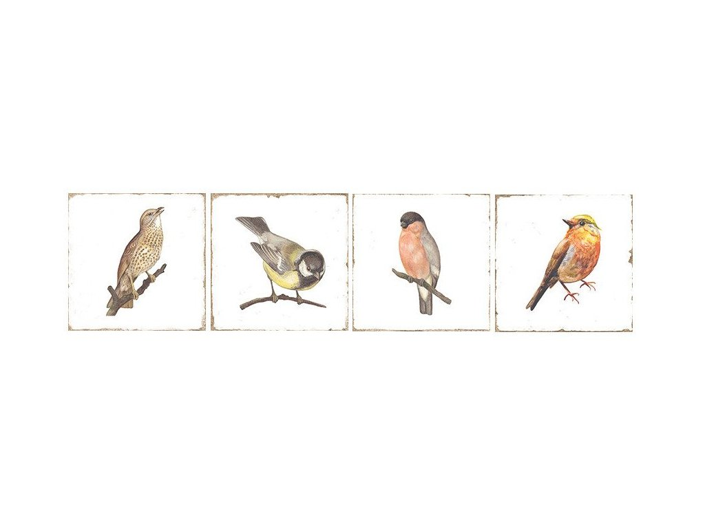 FORLI Birds Decor Mix 20X20 FOL014