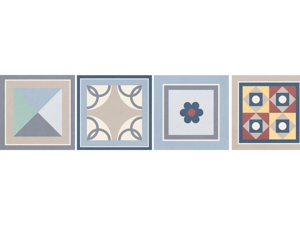 GRENIER Taco Mix 16,5x16,5, náhodný výběr dekorů 20 ks v balení, GRI001