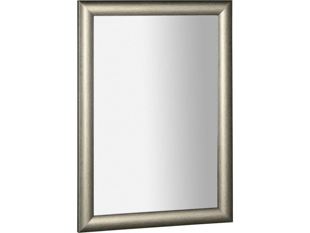 VALERIA zrcadlo v dřevěném rámu 580x780mm, platina NL393
