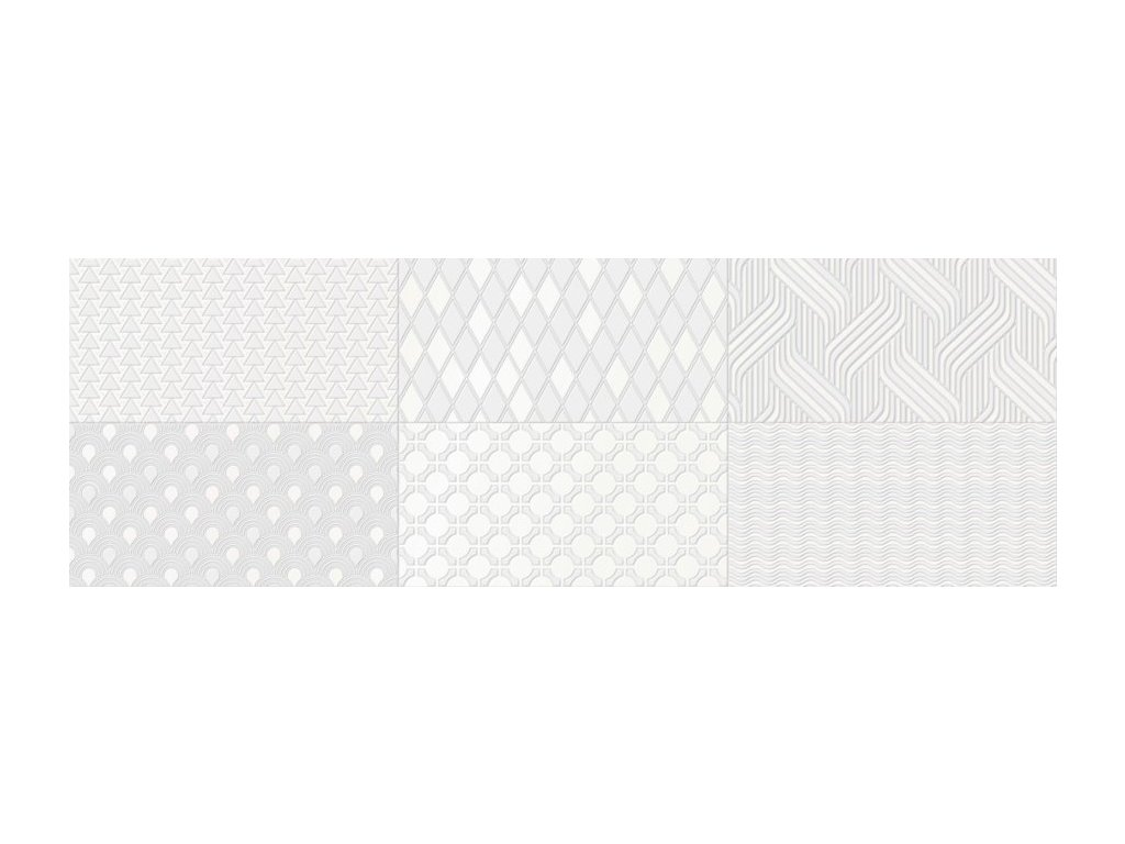 CAMALEONTE Decor Mix Blanco 20x60 (bal=1,44 m2) CAM001