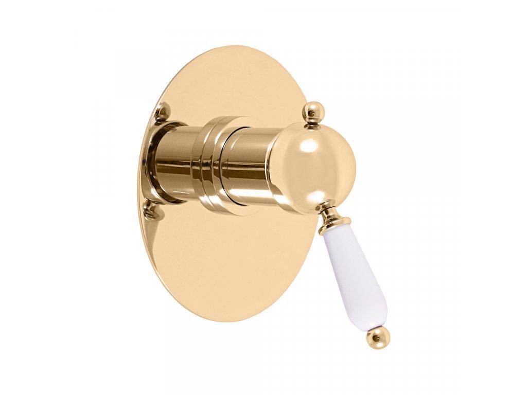 slezak rav labe vodovodni baterie sprchova vestavena zlato l583lz