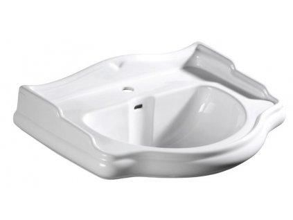RETRO keramické umyvadlo 56x46,5cm (104501)