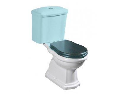 RETRO WC kombi mísa 38,5x41x72cm, spodní odpad 101201