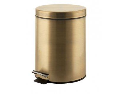 DIAMOND odpadkový koš kulatý 3l, bronz 2609